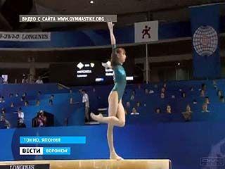 Воронежская гимнастка Виктория Комова уступила американке на 0,033 балла