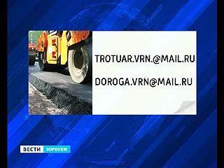 Воронежская мэрия открывает электронную книгу жалоб и предложений