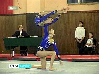 Воронежские акробатки взяли самую высокую точку пьедестала