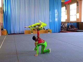 Воронежские акробаты вернулись с соревнований в Шотландии