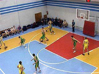 Воронежские баскетболисты принимали спортсменов из Белгорода