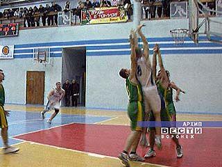 Воронежские баскетболисты встретились с командой Старого Оскола
