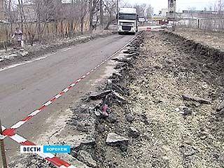 Воронежские дороги начали приводить в порядок