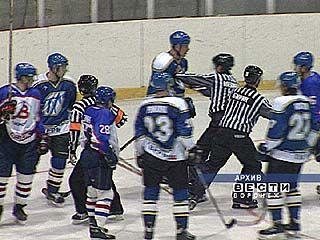 Воронежские хоккеисты отыгрались за недавнее пораженее