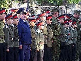Воронежские кадеты официально приступают к занятиям