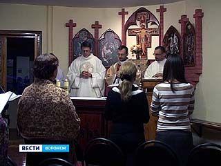 Воронежские капуцины отметили день Святого Франциска