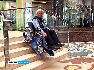Воронежские конструкторы представили новый вариант шагающей коляски
