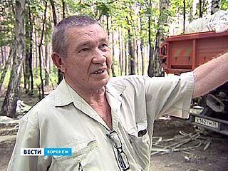 Воронежские лесники занялись уборкой