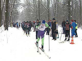 Воронежские лыжники выходят на старт и в мороз, и в оттепель