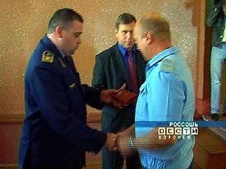 Воронежские машинисты получили нагрудные знаки за безаварийный проезд
