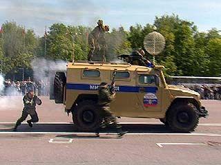 Воронежские милиционеры отметили профессиональный праздник