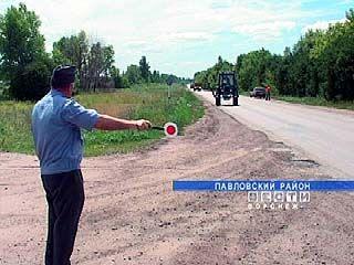 Воронежские милиционеры устроили засаду на механизаторов