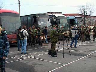 Воронежские милиционеры вернулись из Чеченской Республики