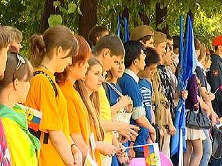 Воронежские молодежные организации провели праздничную акцию