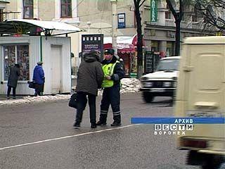 Воронежские пешеходы не боятся нарушать ПДД