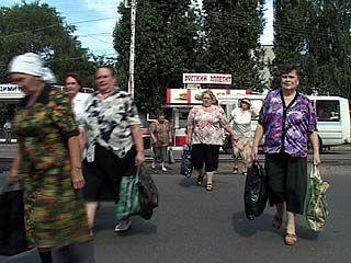 Воронежские пешеходы совсем не знакомы с ПДД
