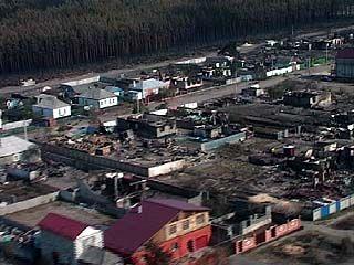 Воронежские погорельцы получат помощь из Иркутской области