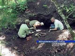 Воронежские поисковики спешат с раскопками