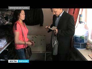 Воронежские полицейские задержали ещё 60 нелегальных мигрантов
