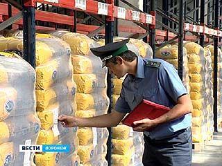 Воронежские поросята чуть не отведали сомнительной пищи