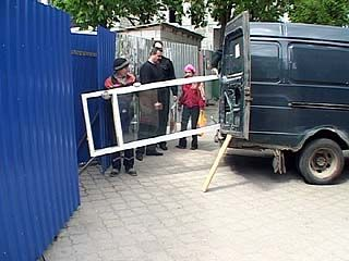 Воронежские предприниматели снова протестуют против сноса киосков