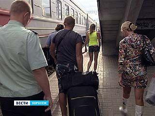 Воронежские приставы буквально сняли с поезда должника-алиментщика