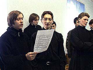 Воронежские семинаристы готовятся к прибытию именитых гостей