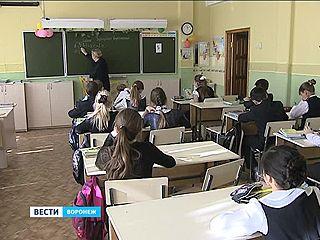 Воронежские школьники сдавали тесты на качество знаний