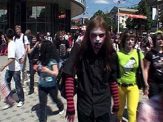 Воронежские школьники устроили праздник непослушания