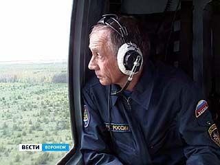 Воронежские спасатели отправились патрулировать лесные массивы с воздуха