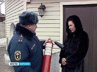 Воронежские спасатели провели профилактический рейд