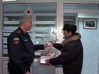 Воронежские стражи порядка тоже не остались без подарков на Новый год