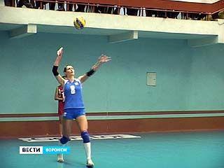 Воронежские волейболистки принимали соперниц из Нижнего Новгорода