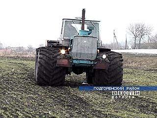 Воронежские земледельцы применяют болотоходы