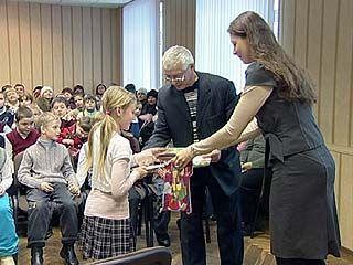 Воронежских школьников наградили за любовь к родному городу