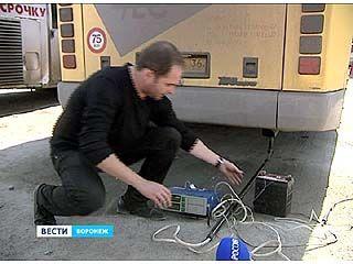 Воронежских водителей проверяли областные экологи