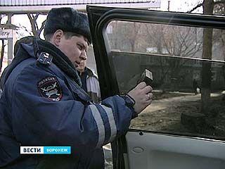 Воронежских водителей заставили помыть номера и снять тонировку