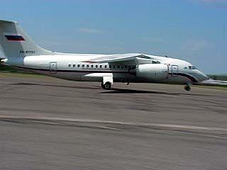 Воронежский лайнер Ан-148 готовится к показательному полету