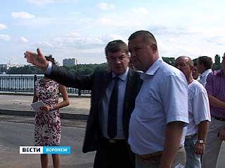 Воронежский мэр в очередной раз объехал все участки подготовки к юбилею города