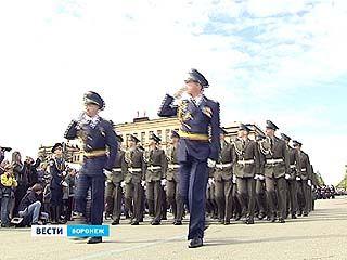 Воронежский парад Победы начался строго в запланированное время