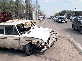 Воронежский пенсионер стал виновником аварии с участием 5 автомобилей