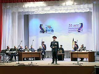 Воронежское казачество отметило 20-летие праздничным концертом