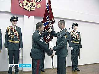 Воронежское Управление ФСКН получило собственный стяг