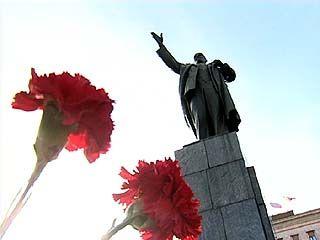 Воронежскому памятнику Ленину исполнилось 70 лет