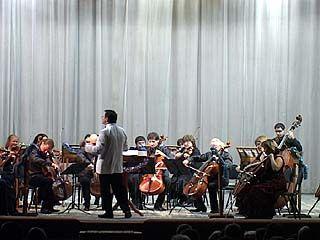 Воронежскую филармонию посетил квартет виолончелистов