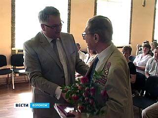 Воронежцев наградили почётными знаками