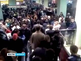 Воронежцы чуть не передавили друг друга во время ночной распродажи