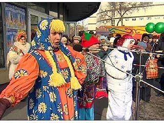 Воронежцы отметили праздник Масленицы