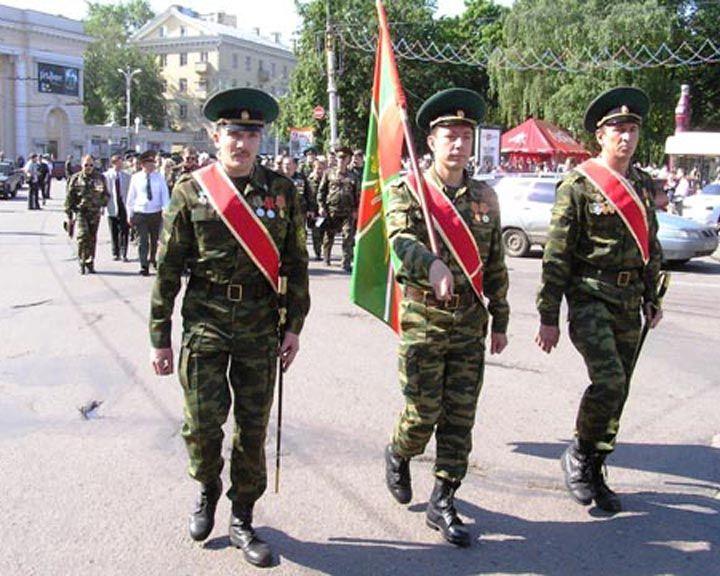 Воронежцы отметят День пограничника праздничным шествием и митингом