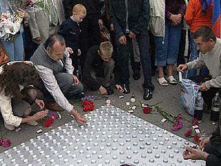 Воронежцы почтили память жертв Бесланской трагедии